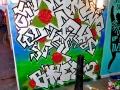 graffiti tree mural brick lane street art vinni kiniki