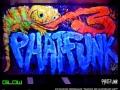 phatfunk uv painting vinni kiniki neon chameleon mural