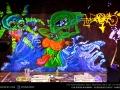 kode 9 alien art painting uv neon twisted artist
