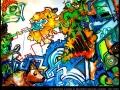 braindrop live painting artist art