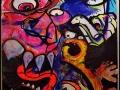 vinni kiniki live performance painting art