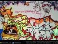 graffiti breakz purple turtle art camden