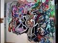 mural vinni kiniki live painting art