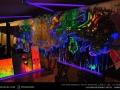 uv neon live painting art bangkok