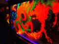 Black light artist event party