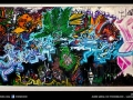 Commission street art graffiti style for Bangkok venue Overstay
