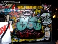 street art bangkok graffiti wall tag spray can character