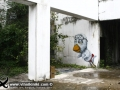 Photo Bangkok Thailand graffiti street art Chicken bird duck