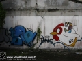 Photo Bangkok Thailand graffiti street art Chicken