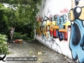 Photo Bangkok Thailand graffiti street art Thai artist Stor one