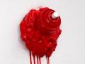 spray can sculpture toy installation art piece dripping drips