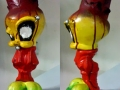 Evil twisted tweetie warped disney cartoon sculpture toy
