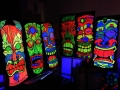 uv black light tiki mask party