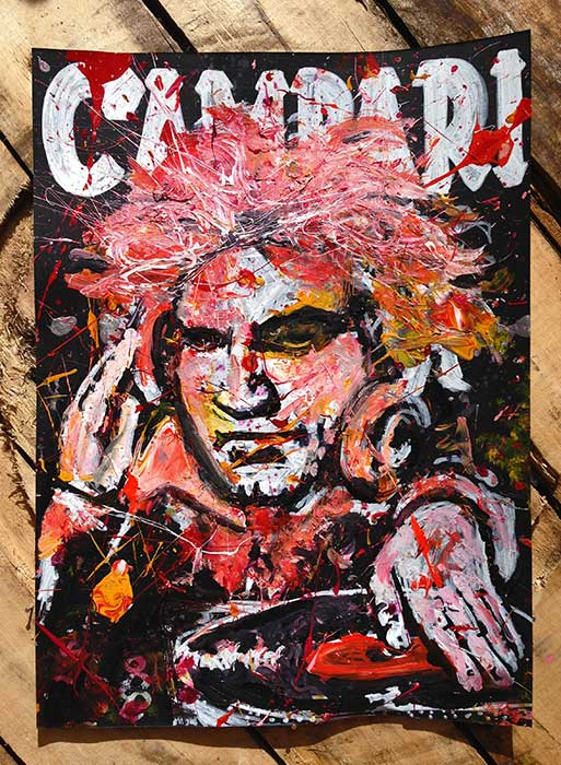 Beethoven on Campari poster art