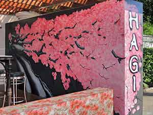 Sakura Cherry blossom tree – Fine art mural Japanese restaurant
