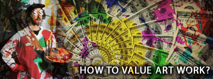 How to value art? An artists perspective