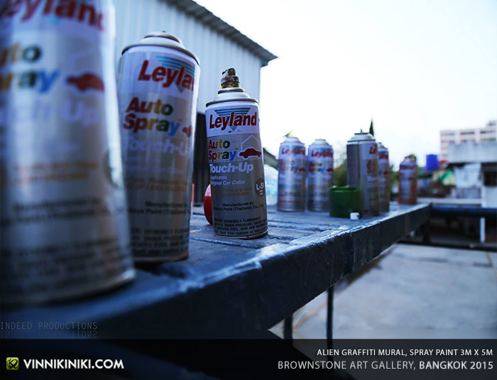 Leyland spray cans Thailand