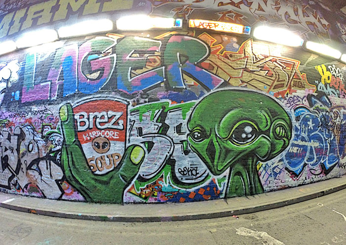Alien Street Art London