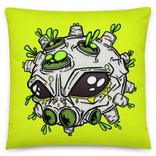 Alien Virus Cushion
