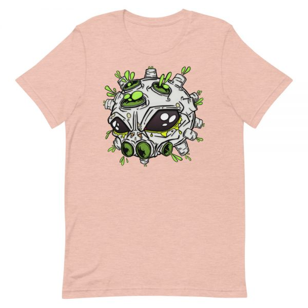 alien virus salmon covid-19 inspired T-shirt