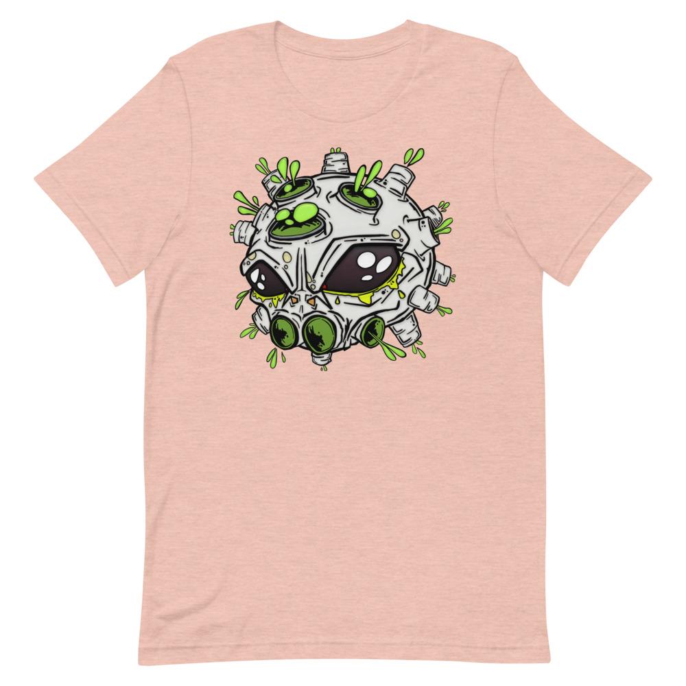 alien virus salmon covid-19 inspired T-shirt