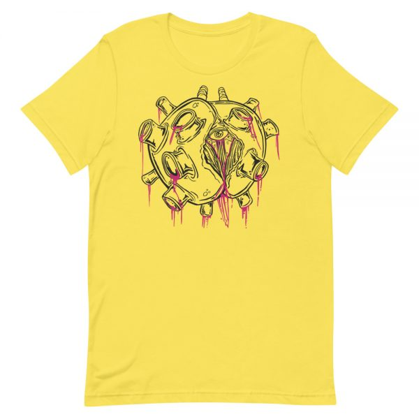covid-69 yellow coronavirus inspired T-shirt