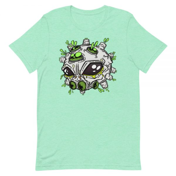 alien virus mint covid-19 inspired T-shirt