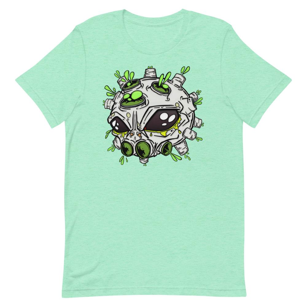 alien virus mint covid-19 inspired T-shirt