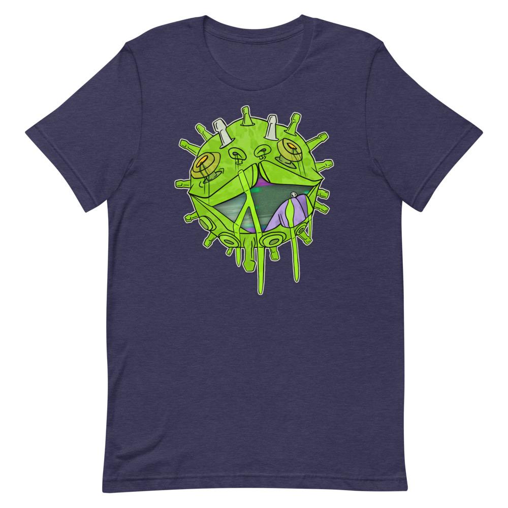 Covid puppy navy coronavirus inspired T-shirt