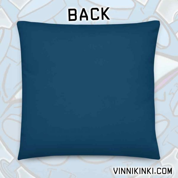 back of pillow
