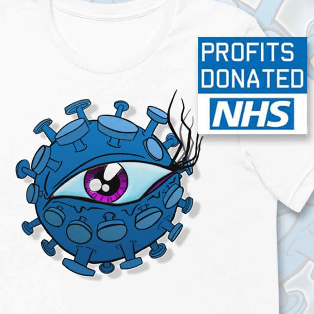 viral eyeball profits donated to NHS charities together