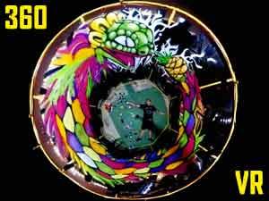 Ouroboros 360 Graffiti Art Installation